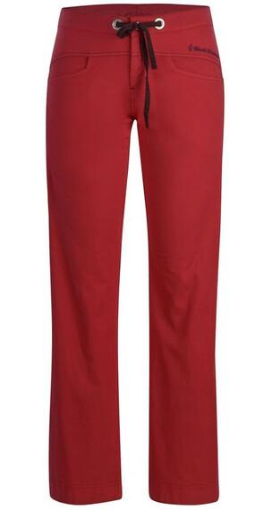Black Diamond W's Credo Pants Rose Red